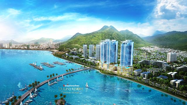 phối cảnh dự án La Luna và tiềm năn du lịch biển tại Nha Trang
