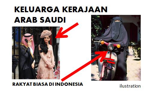 Fenomena Arab Menjadi Barat, Indonesia Menjadi Arab