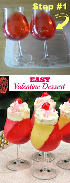 Easy to make Valentine Dessert