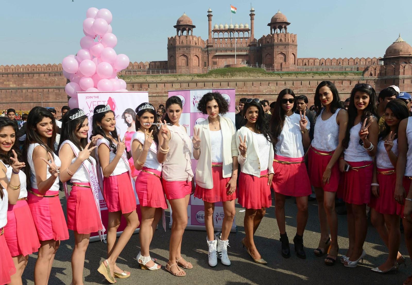 Nargis fakhri's Veet Event