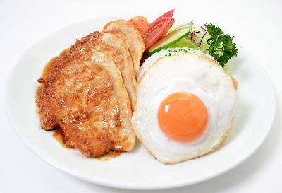 Pork Ginger And Eggs