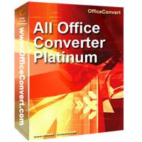 شرح بالصور برنامج All Office Converter Platinum لتحويل pdf لـ word