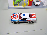 HWC/RLC Hot Wheels Club/Red Line Club Captain America 75th Anniversary