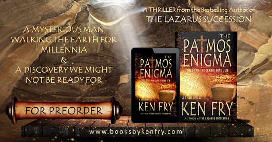 The Writing of THE PATMOS ENIGMA: Quest of The Wandering Jew