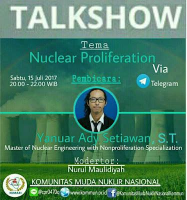 Talkshow Online: Nuclear Proliferation