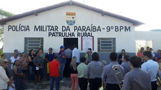 9º BPM em parceria com a prefeitura de Picuí inaugura posto avançado da patrulha rural