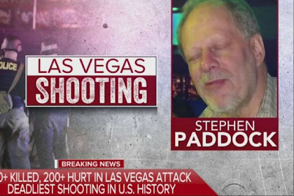 Stephen Paddock, Pelaku tunggal pembantaian Las Vegas