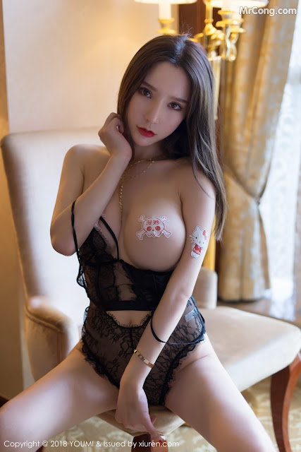 Hot girls Sexy Chinese porn model Zhou Yuxi (周于希) 12