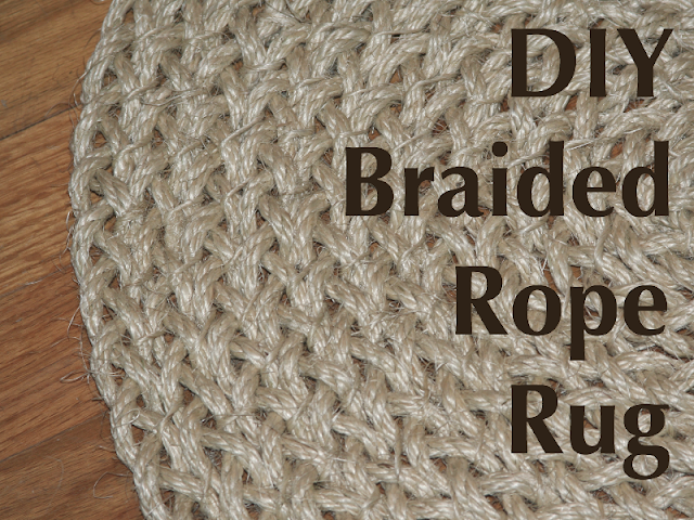 My Salvaged Home Braided Rope Rug