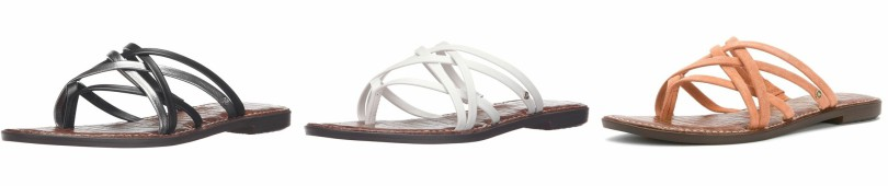 Sam Edelman Georgette Flat Sandals for as low as $20 (reg $60)