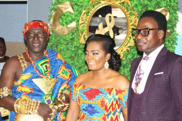 Captain Smart, Captain's New USA Wife And Apostle Francis Amoako-Attah