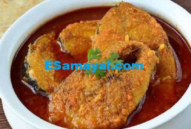 செட்டி நாட்டு மீன் குழம்பு செய்முறை | Chettinad Fish Curry Recipe !