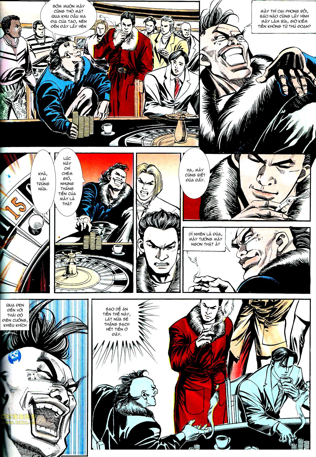Người Trong Giang Hồ chapter 153: xích mích trang 25