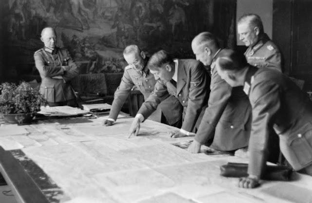 Battle of Dombås worldwartwo.filminspector.com Hitler Berghof map Generals