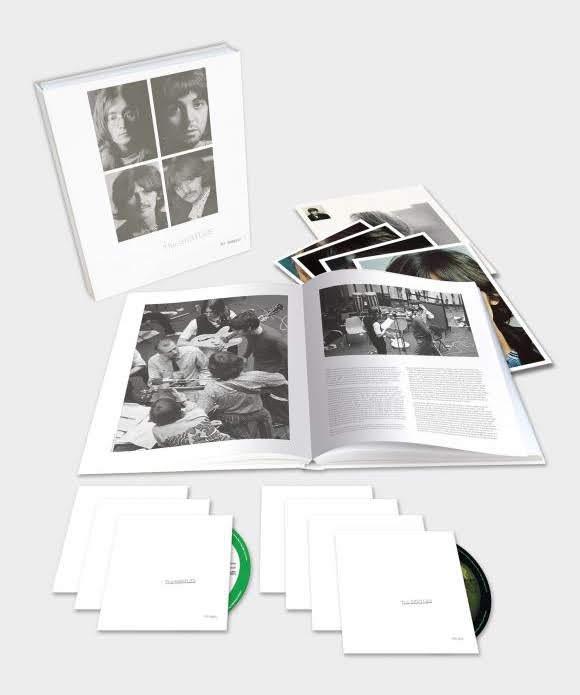 Édition anniversaire du «White Album» des Beatles
