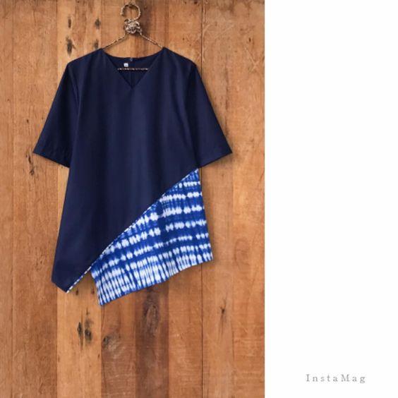 Baju Batik Kombinasi Batik: 35+ Model Baju Batik Kombinasi Terbaik 2018