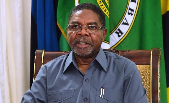 President of Zanzibar and Former Vice President of Tanzania —  Dk. Ali Mohamed Shein.