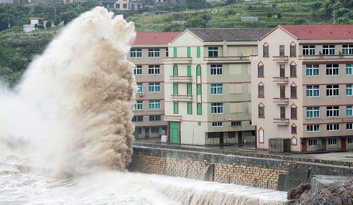 olas como edificios