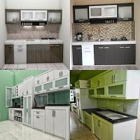 Contoh Desain Kitchen Set Semarang - Furniture / Mebel Ruangan Dapur - Furniture Semarang