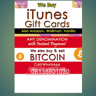 Best Offer! Sell Your iTunes/Amazon Gift Cards, Buy/Sell BITCOIN Here