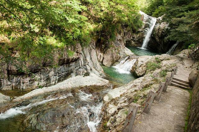 Cascadas HuangShan