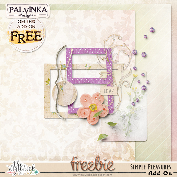 Simple Pleasures new collection and Freebie