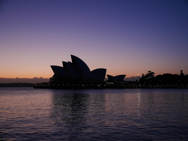 Sydney Opera House at Sunrise Australia