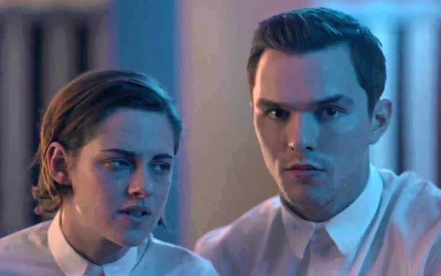 Kristen Stewart et Nicolas Hoult dans Equals, de Drake Doremus (2016)