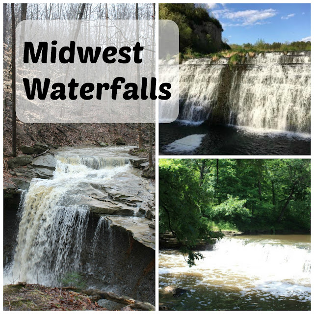 Waterfalls in the Midwest of the United States
