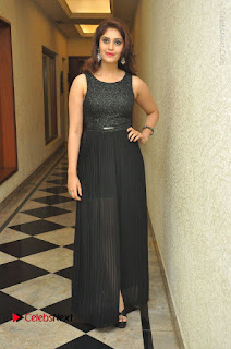 Actress Surabhi Stills in Black Long Dress at turodu Audio Launch  0006.JPG
