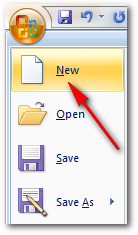 New Document Ms Word