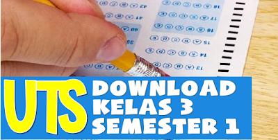 SD SWASTA : Soal Tematik Kelas 3 Tema 1, 2, 3, 4 Semester 1 Kurikulum 2013 SD/MI