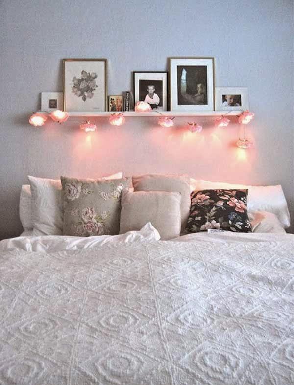 Inspiracion Dormitorio Guirnaldas