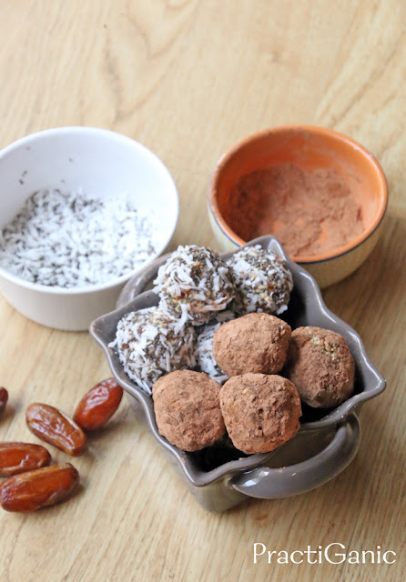 Easy Raw Donut Holes