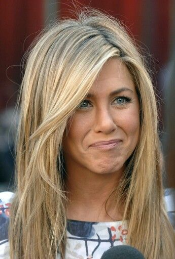 Jennifer aniston dirty blonde hair