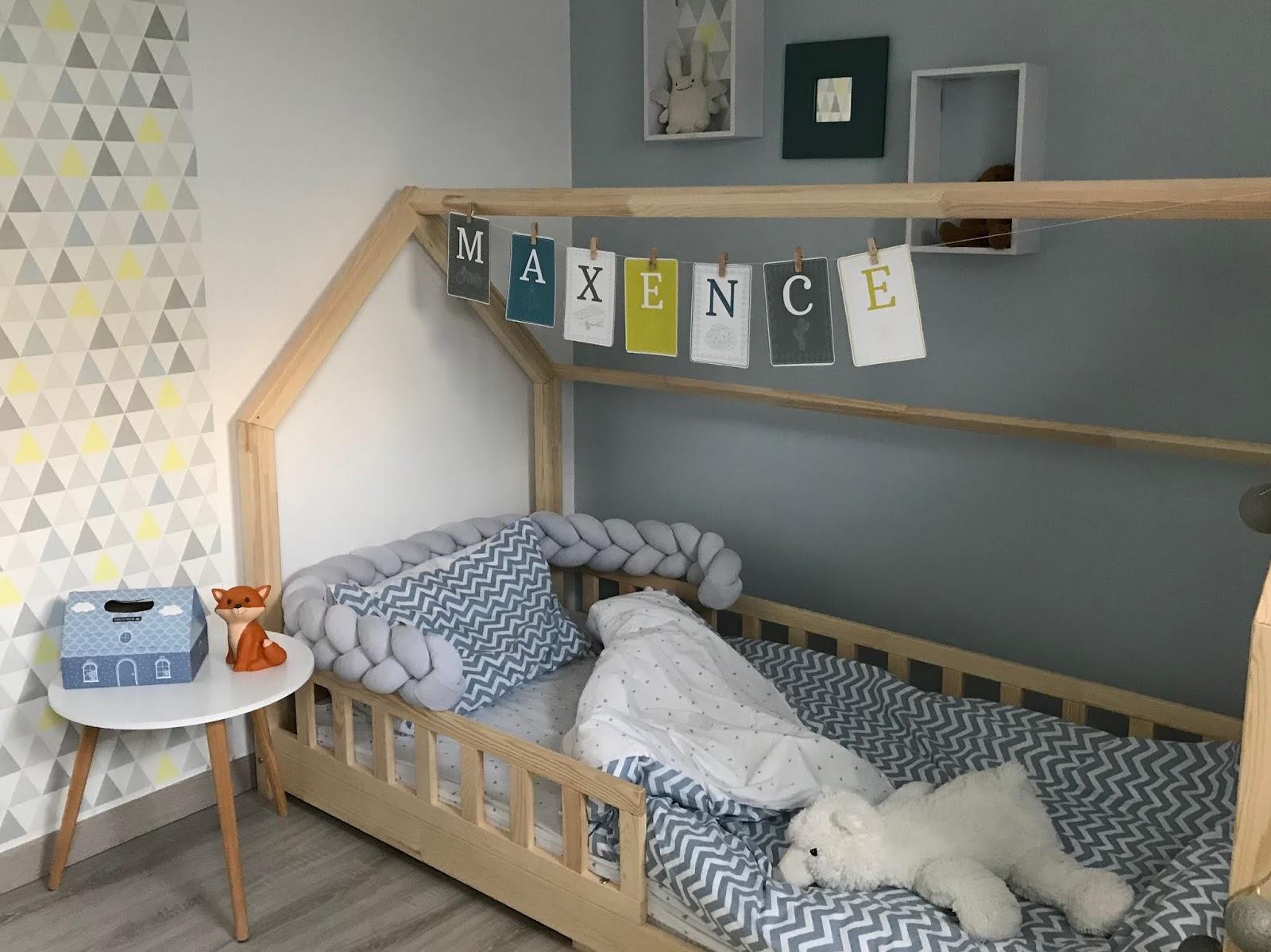 Chambre Lit Cabane Fille quand bébé passe au lit de grand
