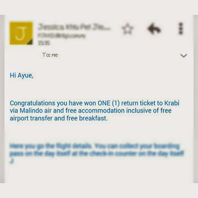Menang tiket ke Krabi with DiGi & Malindo Air!