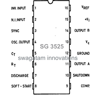 circuit diagram: Understanding SG3525 IC Pin Outs