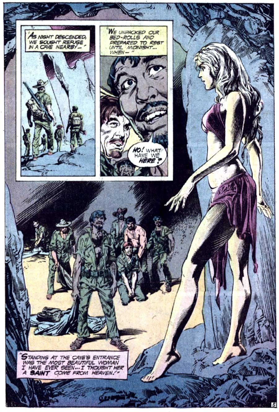 Rima the Jungle Girl v1 #3 dc bronze age comic book page art by Nestor Redondo