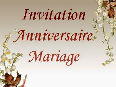faire part anniversaire de mariage gratuit imprimer invitation mariage carte mariage. Black Bedroom Furniture Sets. Home Design Ideas