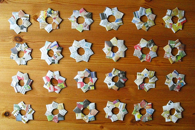 upcycling stars by frauschoenert