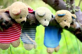 ♥DER  APFELBÄCKCHEN TEDDY ♥