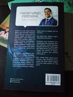 Sinopsis Buku Menemukan Indonesia (dokpri)