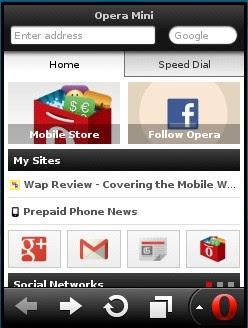 Download Opera Mini 7 | Browser Mobile classic terbaru