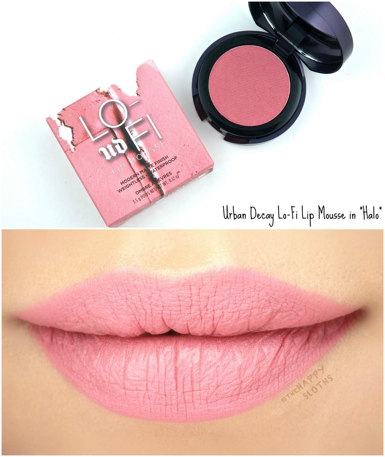 "Urban Decay | Lo-Fi Lip Mousse in ""Halo"": Review and Swatches"