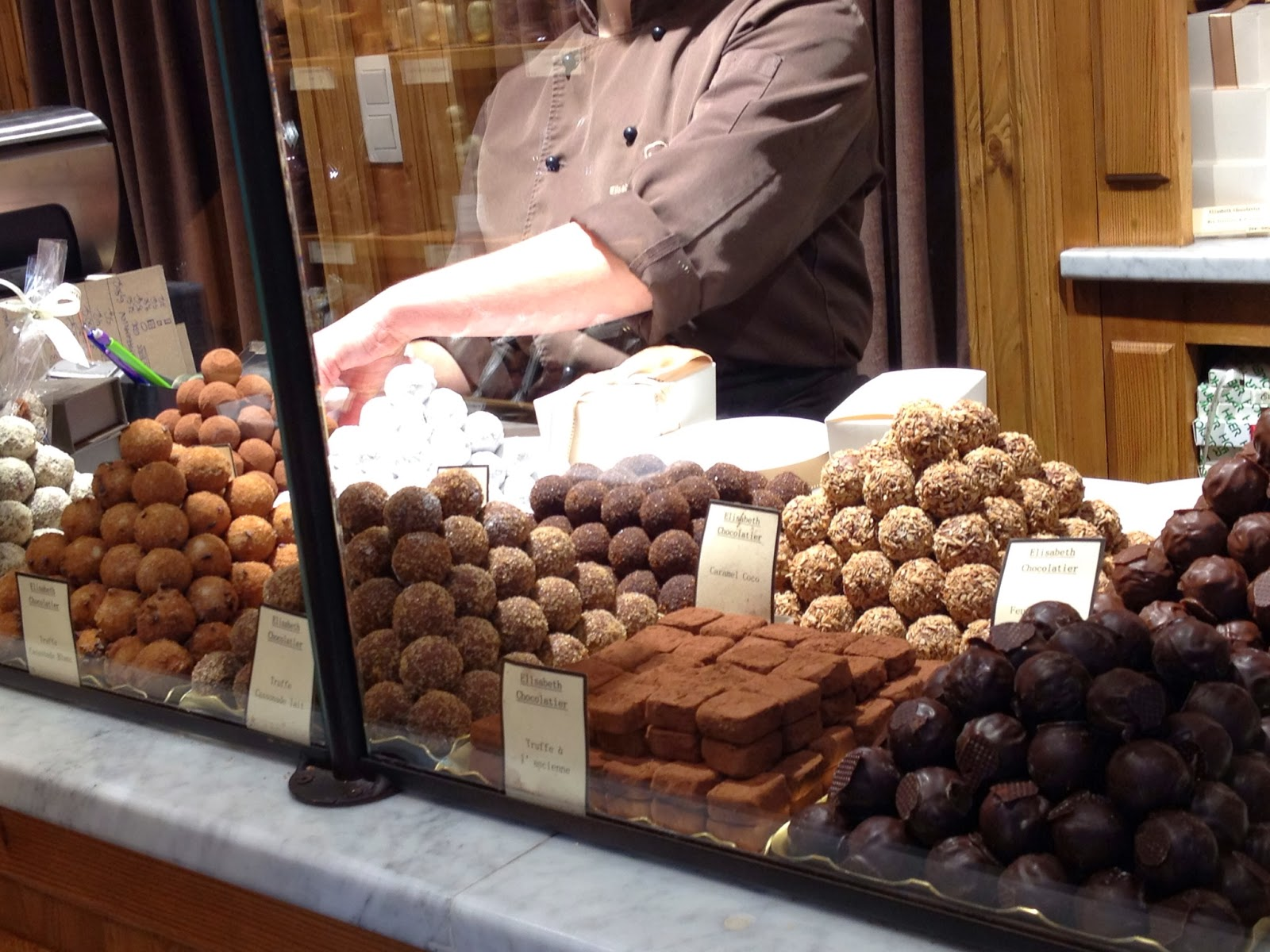 Brussels - Chocolate truffles