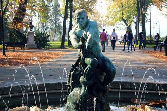 Kalemegdan Park monuments