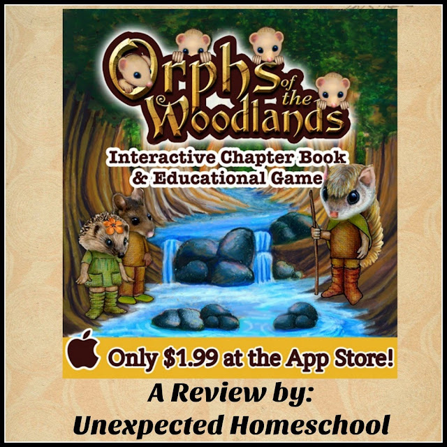 Orphs of the Woodlands at Tanglegate a fun and educational app!