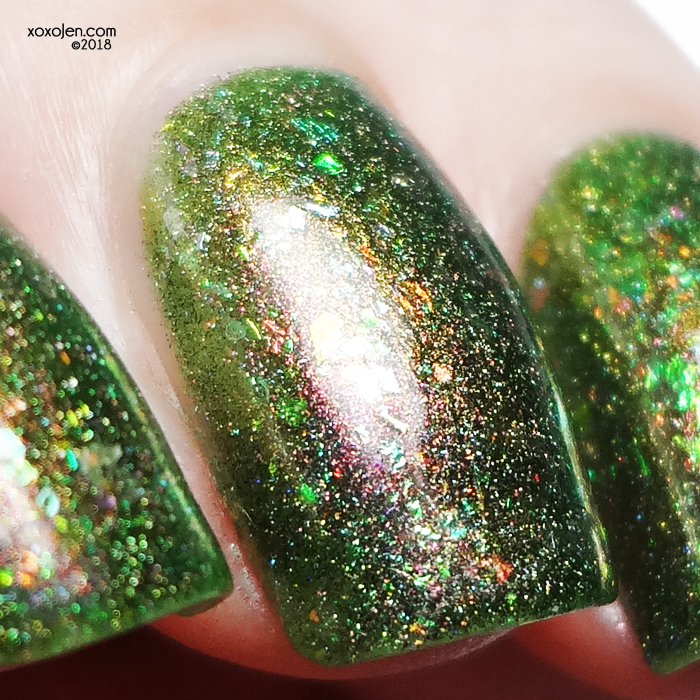 xoxoJen's swatch of Lollipop Sultry but Damaged