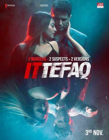 Poster of movie Ittefaq 2017 Hindi 500MB BluRay 720p ESubs HEVC